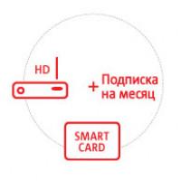 Комплект МТС Спутникового ТВ с подпиской на месяц