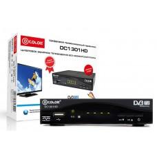Эфирный DVB-T2 Ресивер DColor DC1301 HD