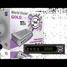 DVB-T2 приставка WORLD VISION T64LAN