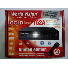DVB-T2 приставка WORLD VISION T62A Limited Edition