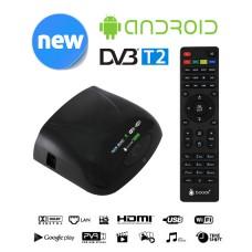 Мультимедийная приставка с DVB-T2 Booox Smart