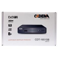 DVB-T2 приставка Cadena CDT-1651SB