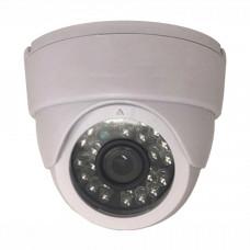 Камера видеонаблюдения гибридная внутренняя купольная AHD-0101 1.3Мп