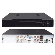 AHD-ВидеоРегистратор  1080N 4 канальный 1HDD 4Audio T-T401-LM-XM